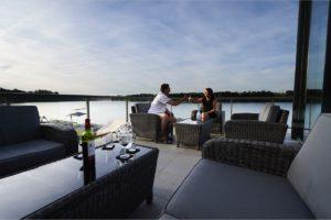 Terrassen am See